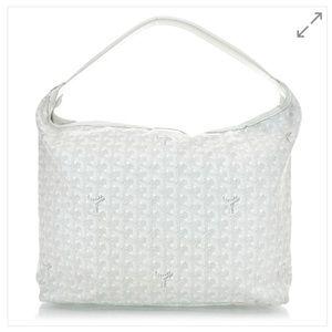 Goyard Fidji Hobo Shoulder Bag White